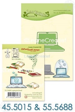 Image de Set Lea'bilitie & Clearstamp Laptop