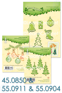 Bild von Set Lea'bilitie & Clearstamp Christmas trees & ornaments