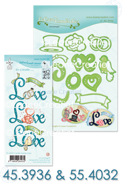 Image de Set Lea'bilitie & Clearstamp Love