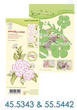 Image de Multi die & Clearstamp Carnation