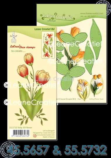Picture of Set Multi Die & Clearstamp Tulip