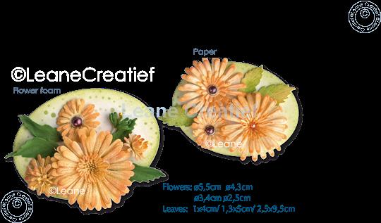 Afbeelding van Multi die & Clearstamp Chrysant & Roll-up tool