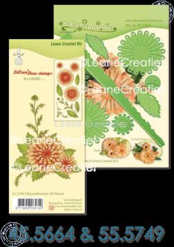 Image de Multi Die & Clear Stamp Chrysanthème