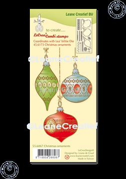 Image de LeCreaDesign® combi tampon clair Ornements de Noël