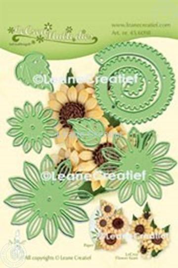 Image sur Lea'bilitie® Multi die 019 Fleur de Soleil 3D  matrice pour découper & gaufrage