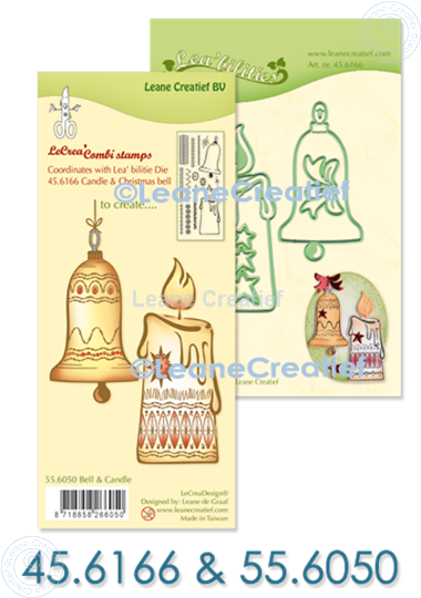 Picture of Set Lea'bilitie & Clearstamp Candle&Christmas bell
