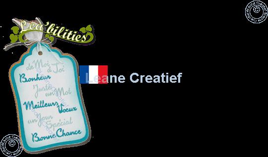 Image sur Lea'bilitie® Vœux Français matrice pour découper