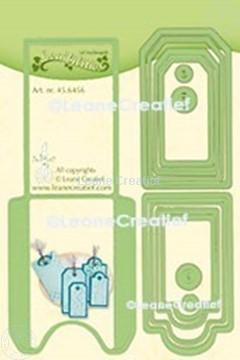 Afbeeldingen van Lea'bilitie® Pocket & Labels snij en embossing mal