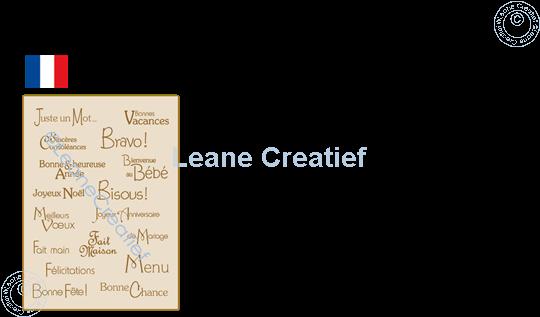Image sur LeCreaDesign® combi tampon clair Vœux Français 3