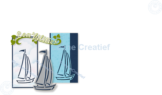 Picture of Lea'bilitie® Silhouette sailboat cutting die