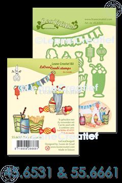 Afbeeldingen van Set Lea'bilitie & Clearstamp Party & Snacks