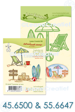 Bild von Set Lea'bilitie & Clearstamp Summer at sea