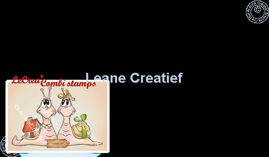 Bild von LeCreaDesign® Kombi Silikon Stempel Schnecke