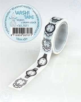 Image de Washi tape Montre, 15mm x 5m.