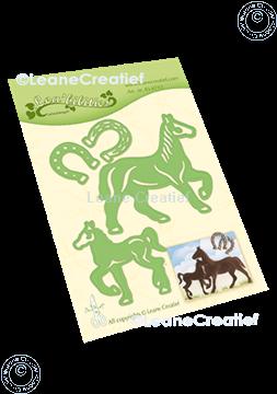 Bild von Lea'bilitie® Pferd & Fohlen Präge- und Schneideschablone