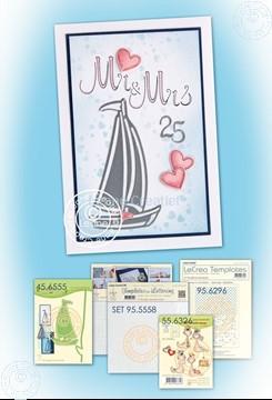 Afbeeldingen van Sailboat Mariage card