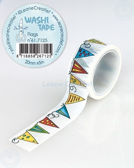 Picture of Washi tape Flags, 20mm x 5m.