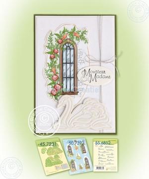 Image de Swans & decoration sheet